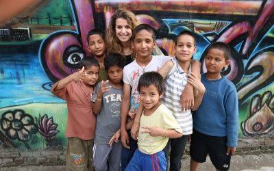 Naiara López Jiménez, exalumna de Escolapios, ejemplo de voluntariado