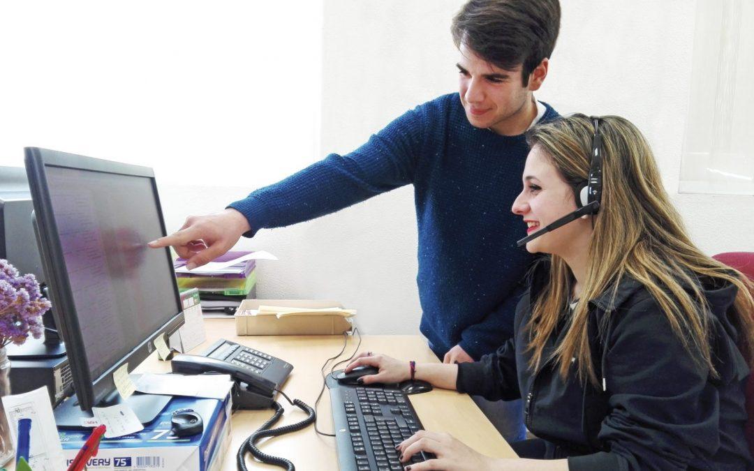 Formación Profesional Básica en Servicios Administrativos I y II.